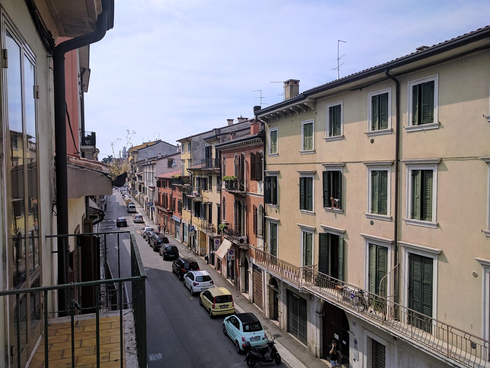 scorcio di Veronetta quartiere di Verona