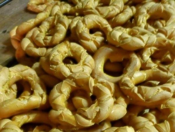 Brassadele broè dolce tipico di Pasqua a Verona