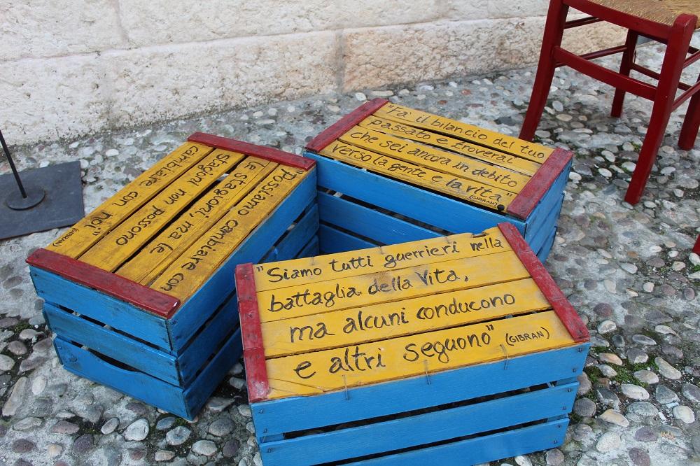 Seduta letteraria a Soave città del libro