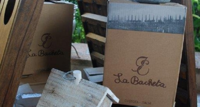 il vino biologico della cantina La Bacheta di Custoza
