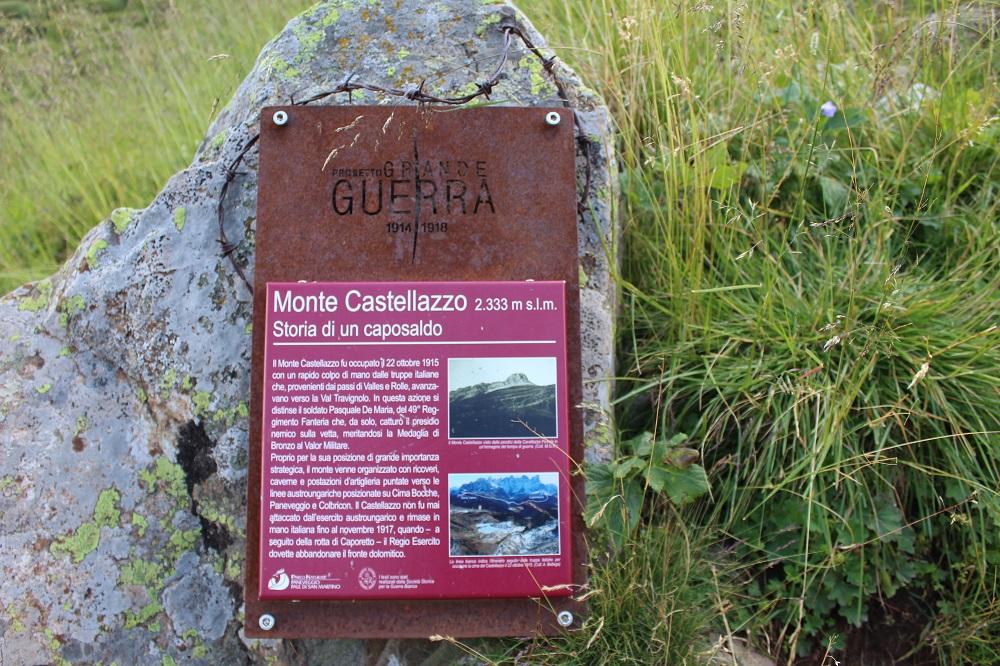 San Martino di Castrozza cosa vedere Monte Castellazzo