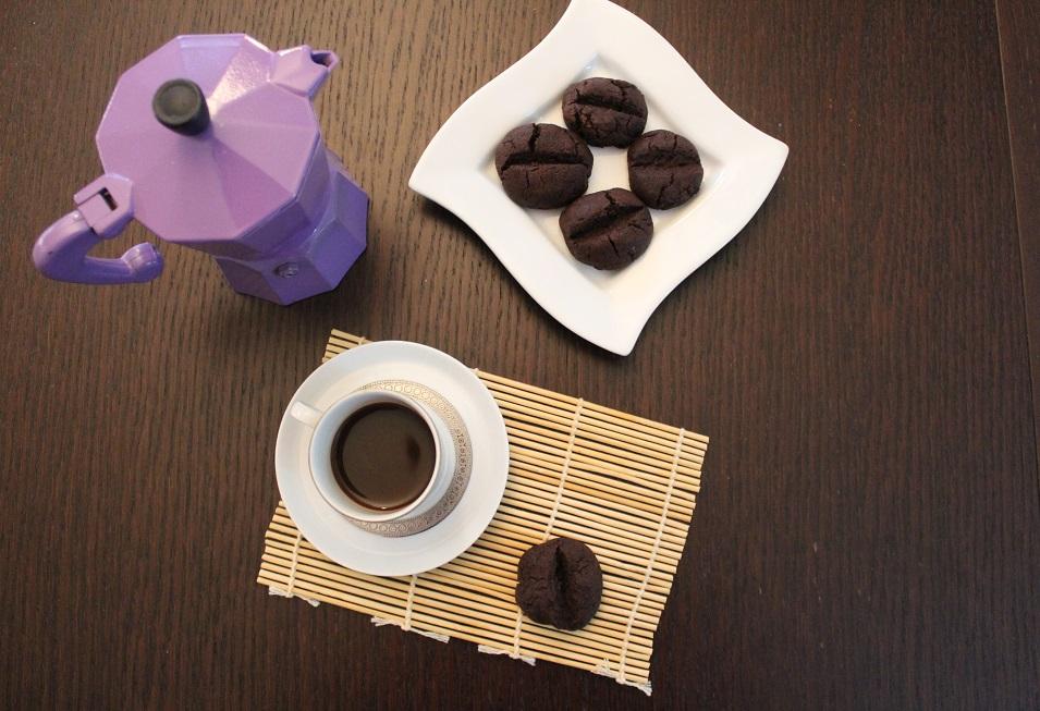 biscotti al caffè reishi e farina di carrube