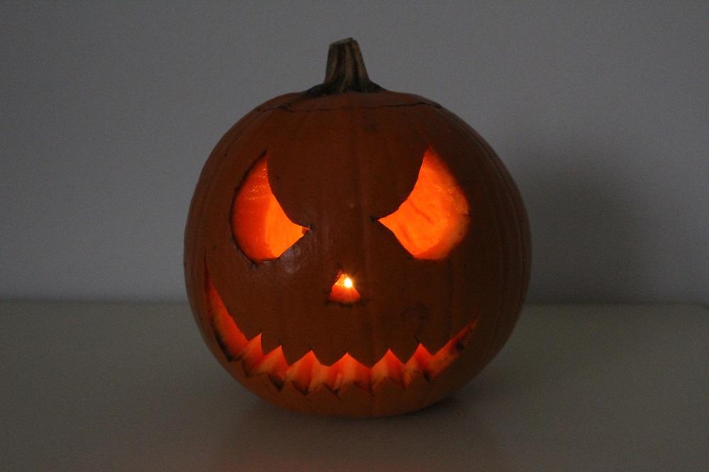 Zucca di Halloween preparata da Silla e Pepe