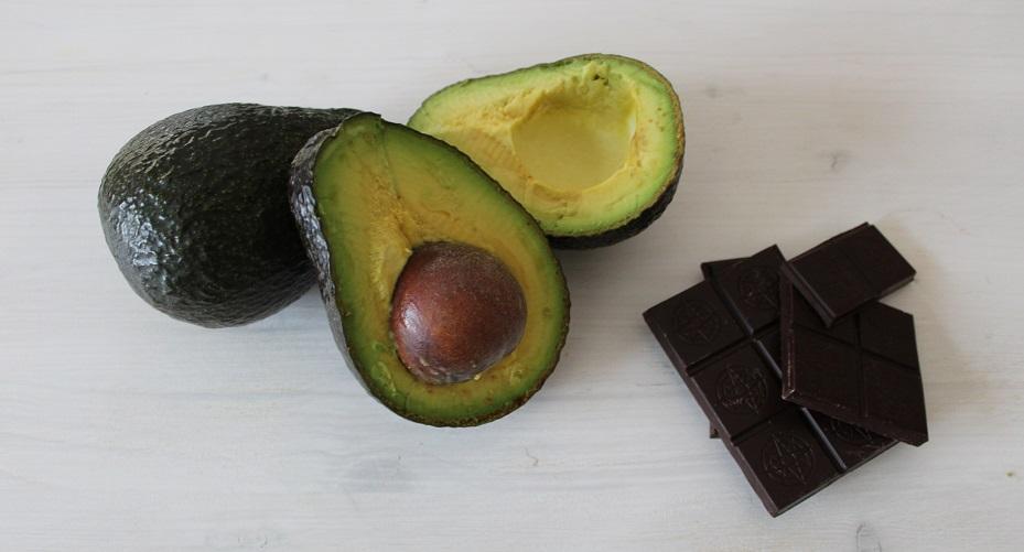Avocado e cioccolato di Silla e Pepe