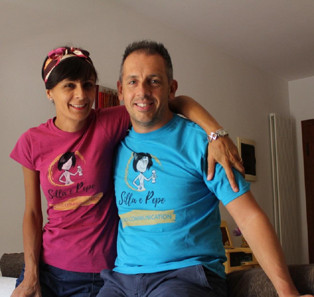 t-shirt Silla e Pepe vari colori