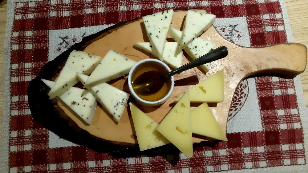 formaggio casolet della Val di Rabbi