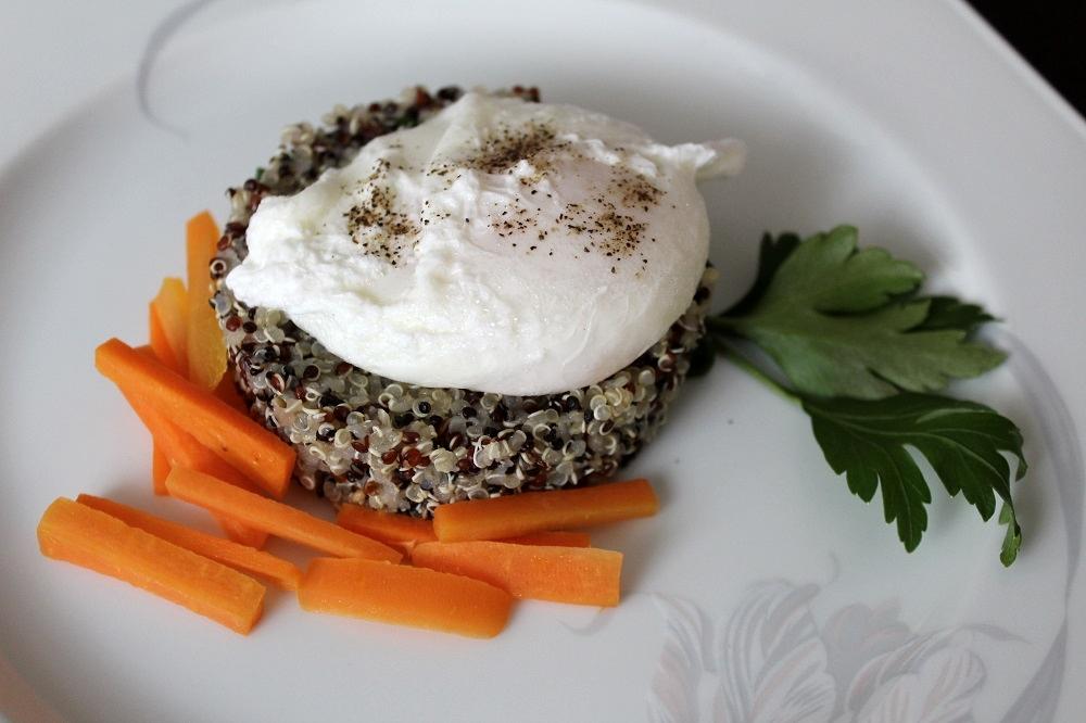 insalata di quinoa composta