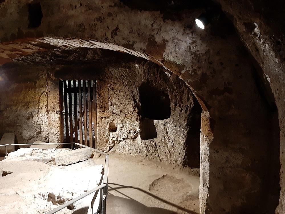 Orvieto sotterranea frantoi particolare di Silla e Pepe