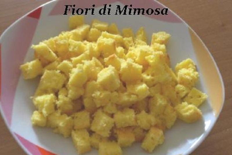 torta mimosa preparazione