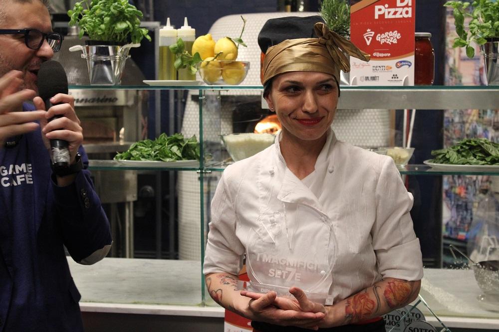 pizzeria Settimo cielo ritira il premio