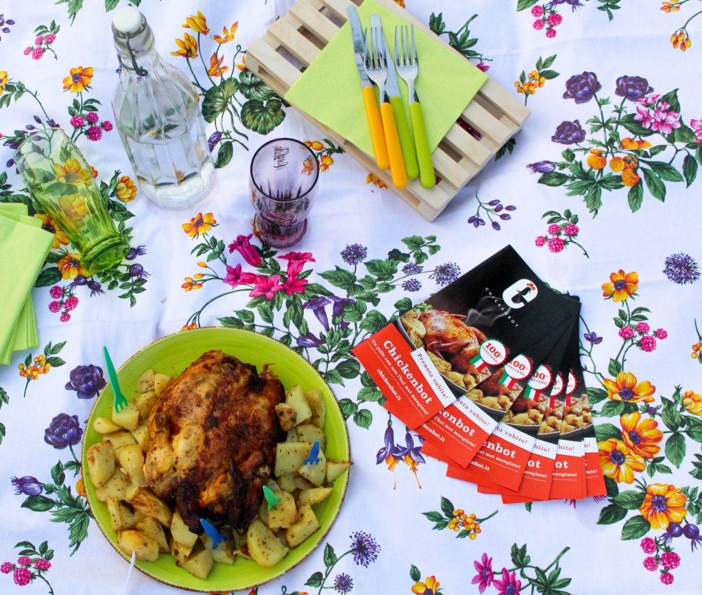 chickenbot per un picnic