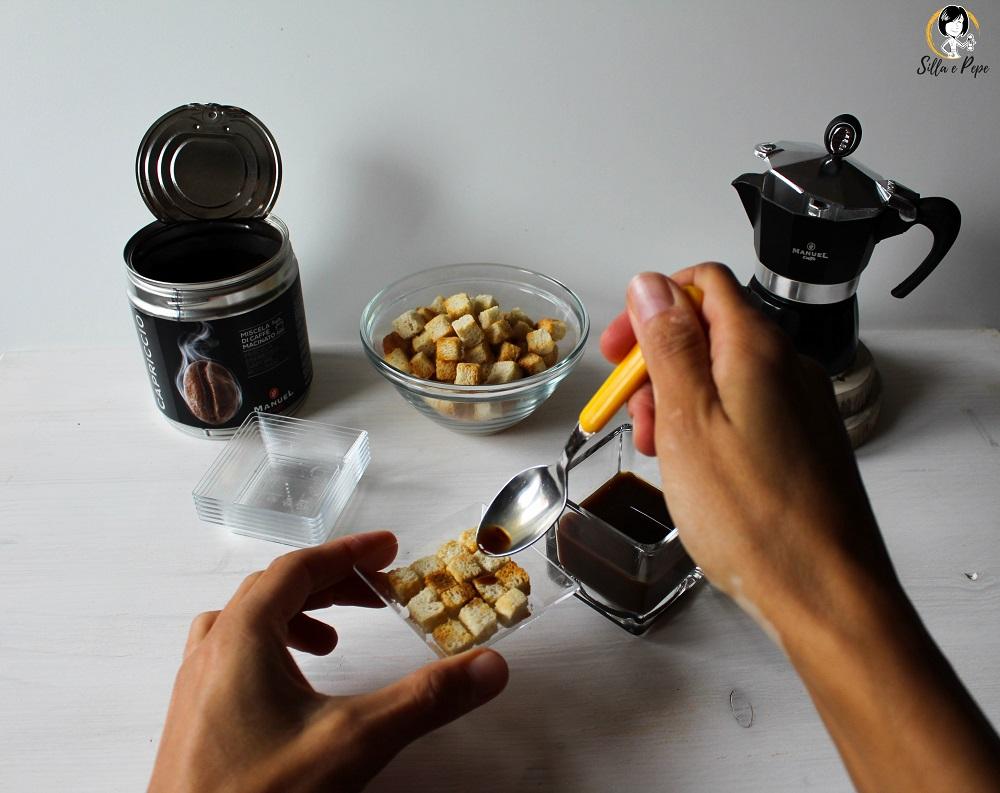 bagna della bruschetta col caffè Masterclass Manuel Caffè