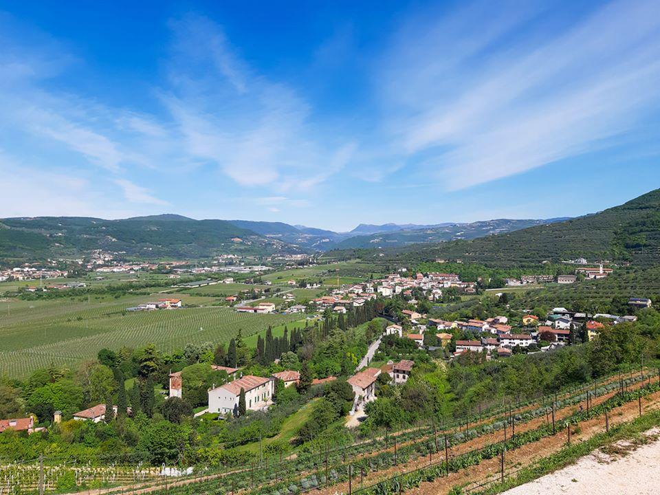 paesaggio delle colline attorno a Verona