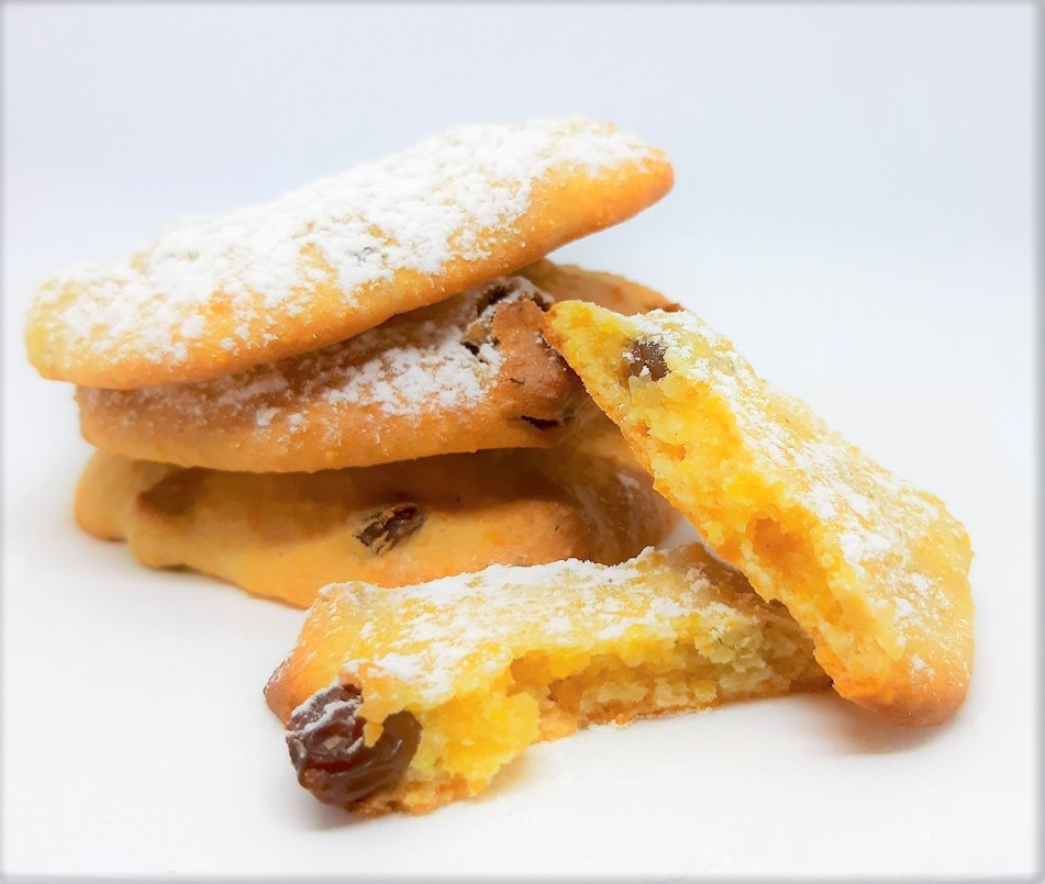 pila di zaletti biscotti veneti a base di polenta