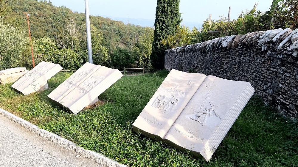 via crucis dei lapicidi a San Giorgio di Valpolicella