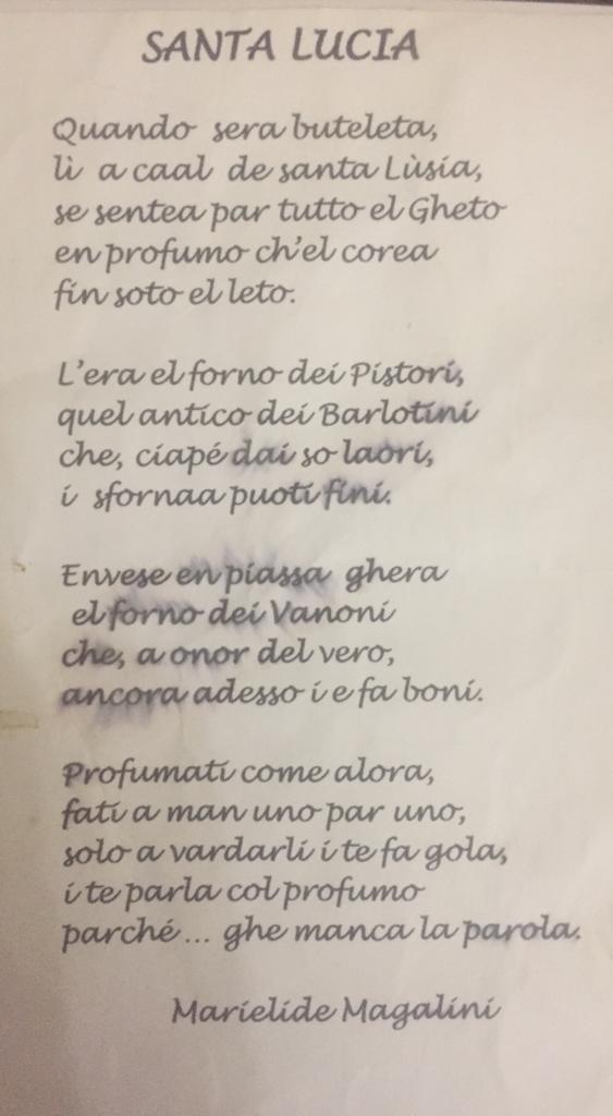 poesia di Santa Lucia