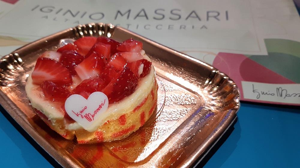 monoporzione alle fragole Iginio Massari