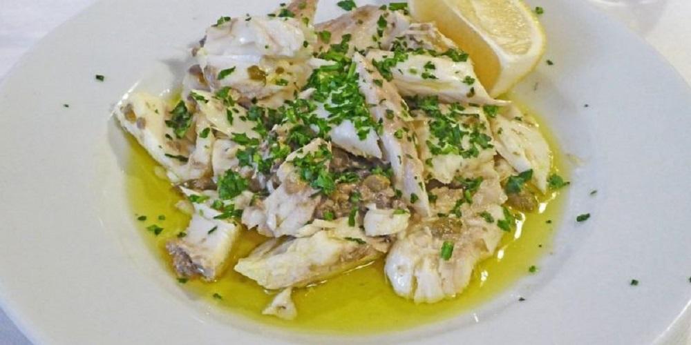 piatto tipico lago di Garda